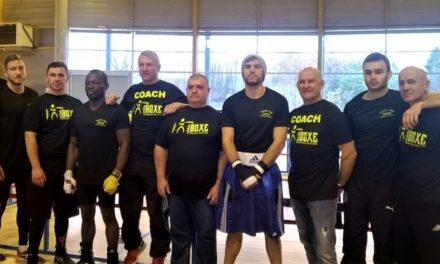 Stage international de boxe professionnelle au Temple sur Lot – Décembre 2017