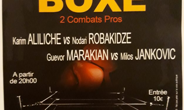 Gala du Boxing Club Morlaas le 22/02 à Morlaas